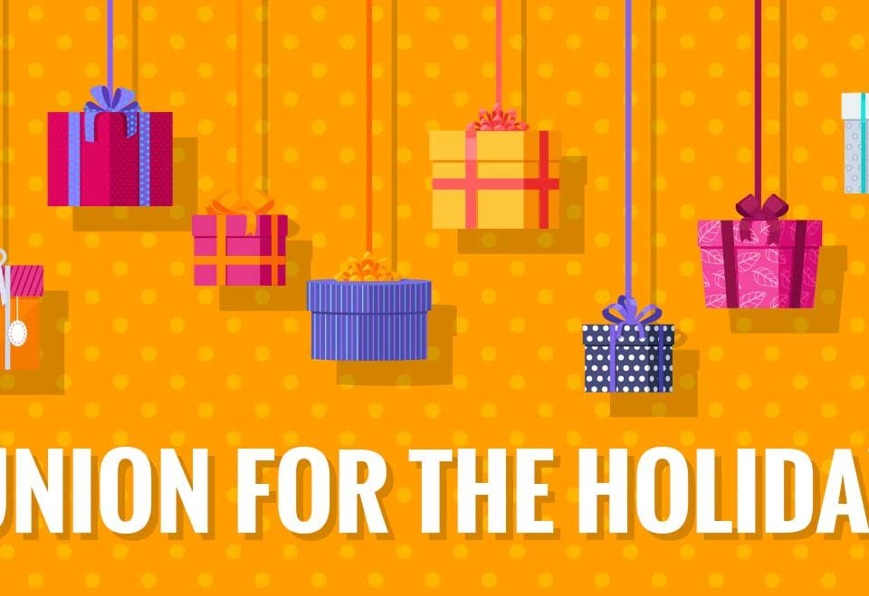 Buy Union for the Holidays