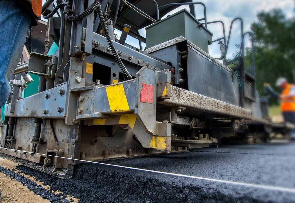 Paving Roads - Trump Infrastructure Plan