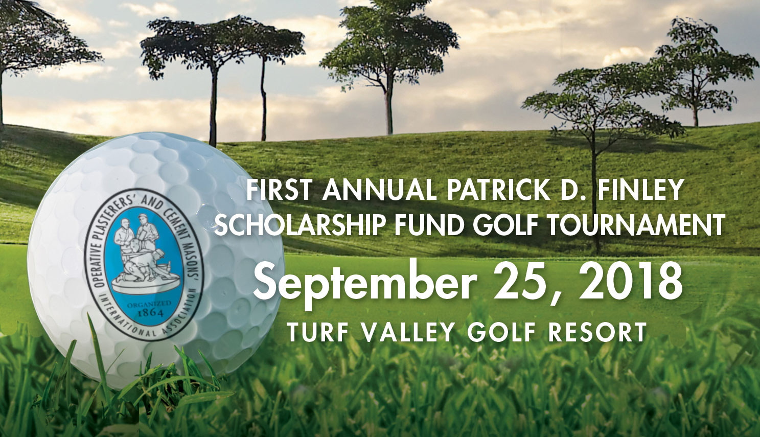 First Annual Patrick D. Finley Scholarship Fund Golf Tournament, September 25, 2018, Turf Valley Resort