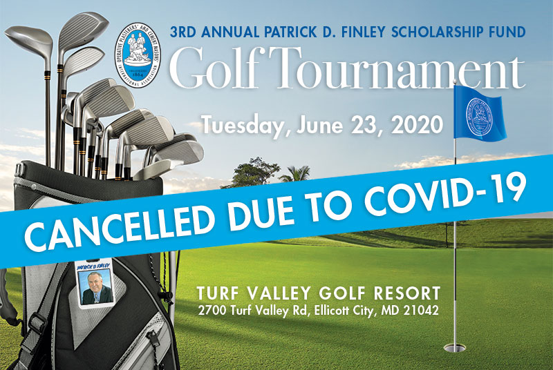 Golf Tournament Cancelled due to COVID-19